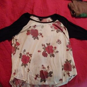 NWT Womens Baseball Tee